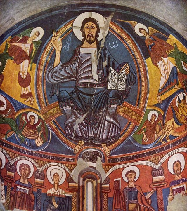 Cristo, en San Clemente de Tahull,