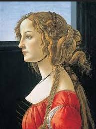 Simonetta Vespucci por Sandro Botticelli.