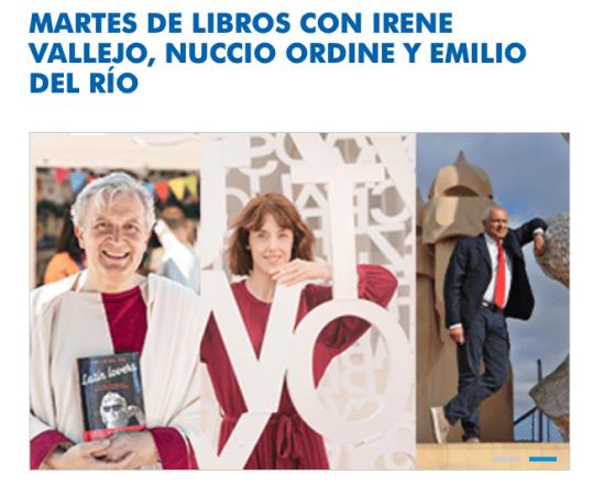 Captura de la web de Fundación Ibercaja
