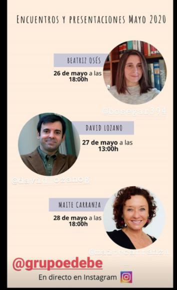 Encuentros edebé 26y27mayo Oses Lozano